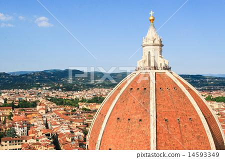 佛羅倫薩百花大教堂頂部 14593349