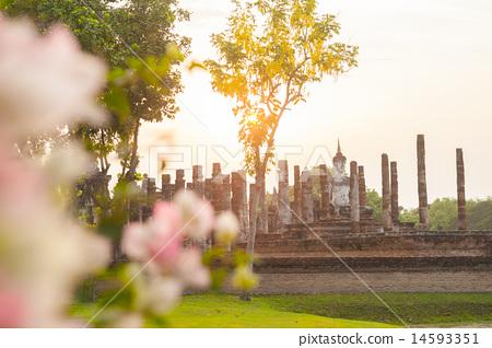 素可泰歷史公園佛殿遺址 14593351
