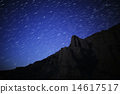 Star Trails over Desert Rock in Red Rock Canyon 14617517