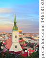 city, slovakia, bratislava 14618130