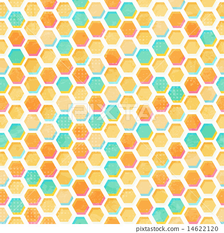 abstract honeycomb seamless pattern 14622120