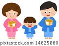 浴衣 家庭 家族 14625860