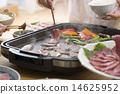 牛肉 燒烤 烤蔬菜 14625952