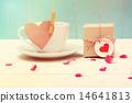 coffeecup, present, hearts 14641813