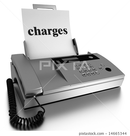 charges word printed on fax 14665344