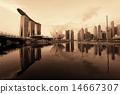 新加坡 天際線 海濱 14667307
