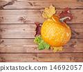 Happy Halloween pumpkin composition 14692057