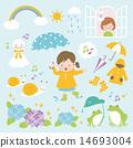 umbrella, frog, frogs 14693004