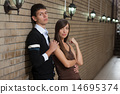 Young couple indoor. 14695374