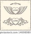Love heraldic icons. 14698980