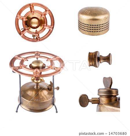 Old kerosene stove, made in 1960 in USSR 14703680