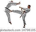 karate men teenager student fighters fighting 14706105