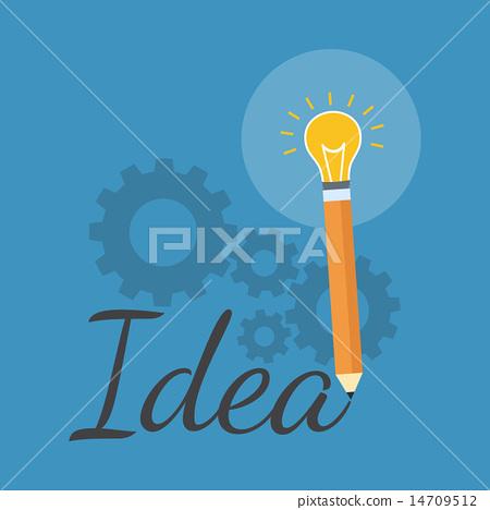 Creativity Inspiration Concept Flat Design
