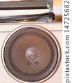 揚聲器 音樂 樂譜 14725682