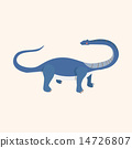 dinosaur cartoon theme elements vector,eps 14726807