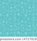 Sport line icon pattern set 14727828