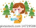 allergy, allergies, vector 14729588