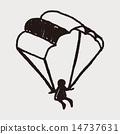 Doodle Parachute 14737631