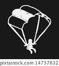 Doodle Parachute 14737632