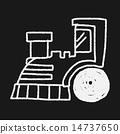 Doodle Train 14737650