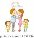 兄弟 接吻 吻 14737794