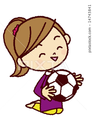 축구를 좋아하는 여자 14743841