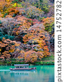Autumn leaves of Arashiyama 14752782
