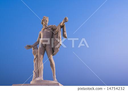 太陽神 阿波羅大理石雕像 14754232