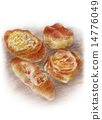 bread, danish, pastry 14776049