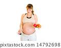 怀孕 平板电脑 孕妇 14792698