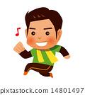 jogging, smile, smiling 14801497