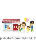 爸爸 購物 家庭 14802419