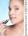 牙齿 唇膏 化妆品 14807883