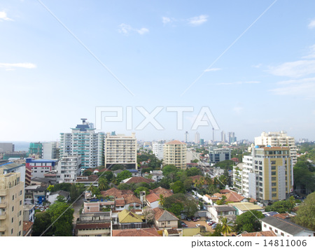 Beautiful scenery from a hotel in Sri Lanka 14811006