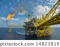 Production platform of oil and gas industry  14823819