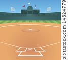 一個棒球場 14824779
