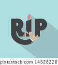 Rest In Peace Typography Design 14828228