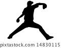 左手投手黑色 14830115