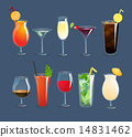 插图 鸡尾酒 饮料 14831462