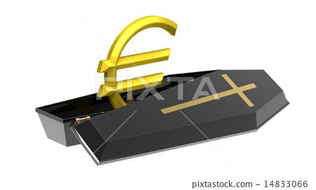 Euro in coffin 14833066