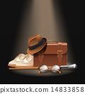 gentleman, accessories, set 14833858