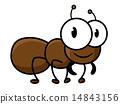 蚂蚁 可爱 卡通 14843156