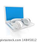 耳机 笔记本 便携电脑 14845812