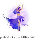 Belly dancer.  14849847