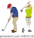積極的高級高爾夫 14850116
