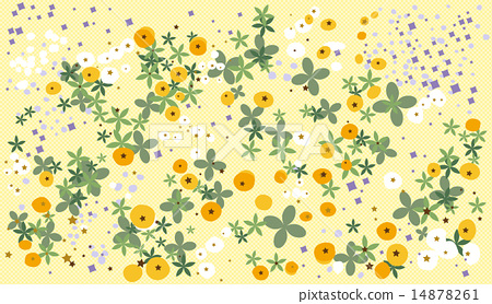 Spring flower gallery illustration 14878261