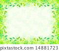 클로버 잎 프레임 14881723