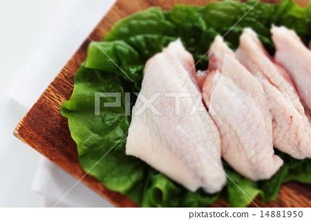 Domestic chicken wings 14881950