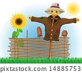 coat, straw, scarecrow 14885753