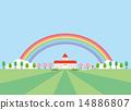 背景素材-幼稚園イメージ1 14886807